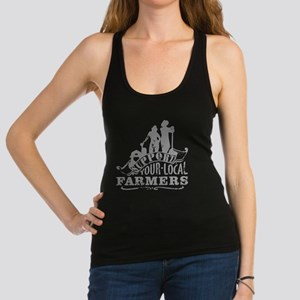 Support Your Local Farmers Racerback Tank Top