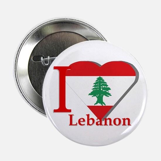 I love Lebanon Button