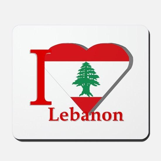 I love Lebanon Mousepad