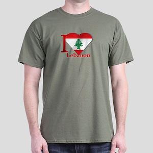 I love Lebanon Dark T-Shirt
