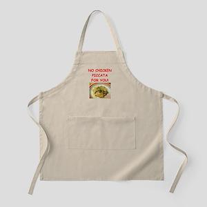 chicken piccata Apron