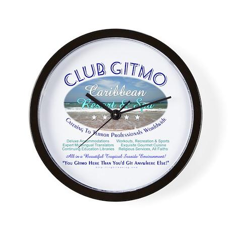 Club Gitmo Wall Clock