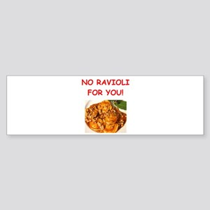 ravioli Bumper Sticker