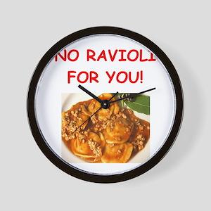 ravioli Wall Clock