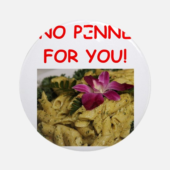 penne Ornament (Round)