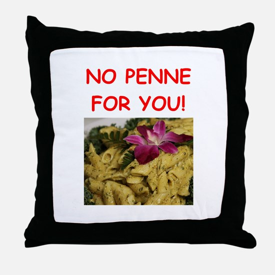penne Throw Pillow