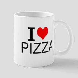 I Love Pizza Mugs