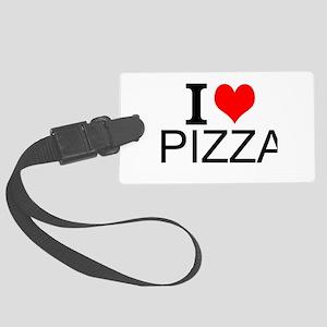 I Love Pizza Luggage Tag