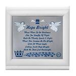 Hope bright Tile Coaster