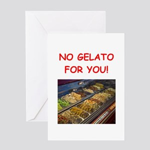 gelato Greeting Cards
