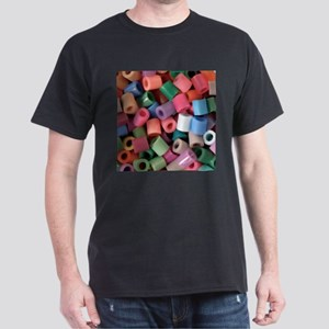Plastic Craft Beads - Crafty Dark T-Shirt