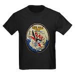 USS HALE Kids Dark T-Shirt