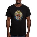USS HALE Men's Fitted T-Shirt (dark)