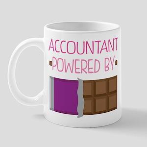 Accountant powered by chocolate Mug