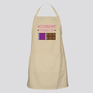 Accountant powered by chocolate Apron