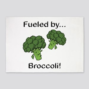 Fueled by Broccoli 5'x7'Area Rug