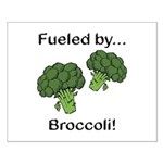 Fueled by Broccoli Small Poster