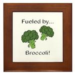 Fueled by Broccoli Framed Tile