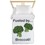 Fueled by Broccoli Twin Duvet