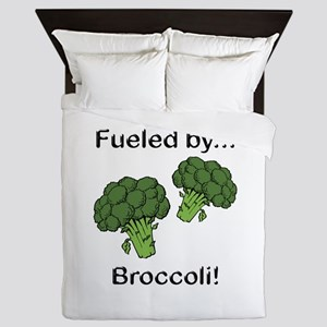 Fueled by Broccoli Queen Duvet