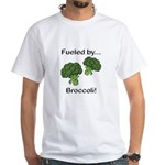 Fueled by Broccoli White T-Shirt