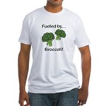 Fueled by Broccoli Fitted T-Shirt