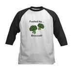 Fueled by Broccoli Kids Baseball Jersey