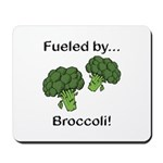 Fueled by Broccoli Mousepad