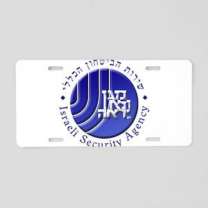 ISA: Shabak (Shin Bet) Aluminum License Plate