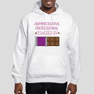 Administrative professional powe Hooded Sweatshirt