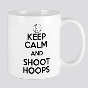 Keep Calm and Shoot Hoops Mugs