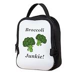 Broccoli Junkie Neoprene Lunch Bag