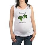 Broccoli Junkie Maternity Tank Top