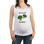 Broccoli Junkie Maternity Tank Top
