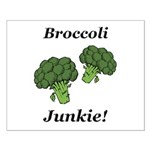 Broccoli Junkie Small Poster