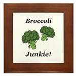 Broccoli Junkie Framed Tile