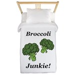 Broccoli Junkie Twin Duvet