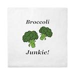Broccoli Junkie Queen Duvet
