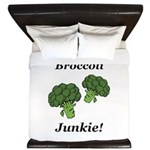 Broccoli Junkie King Duvet