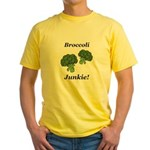 Broccoli Junkie Yellow T-Shirt
