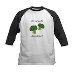 Broccoli Junkie Kids Baseball Jersey
