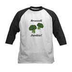 Broccoli Junkie Kids Baseball Jersey