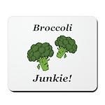 Broccoli Junkie Mousepad