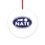 NATE logo Ornament (Round)