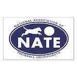 NATE logo Sticker