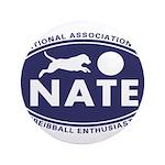 """NATE logo 3.5"""" Button"""