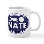 NATE logo Mugs