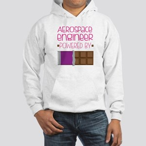 Aerospace engineer powered by ch Hooded Sweatshirt