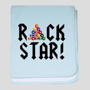 Rack Star baby blanket
