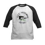 USS HAZELWOOD Kids Baseball Jersey
